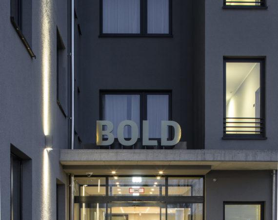 Eingangsbereich des BOLD Hotels München-Giesing